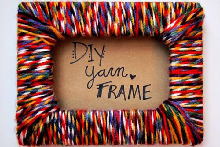 Wool Photo Frames