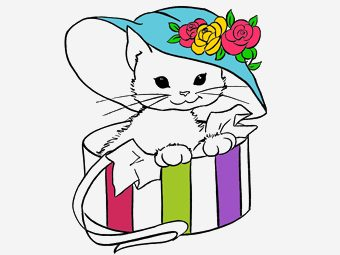 30 Printable Cat Coloring Pages Your Toddler Will Love