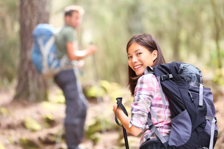 12. Get adventurous A hiking trip