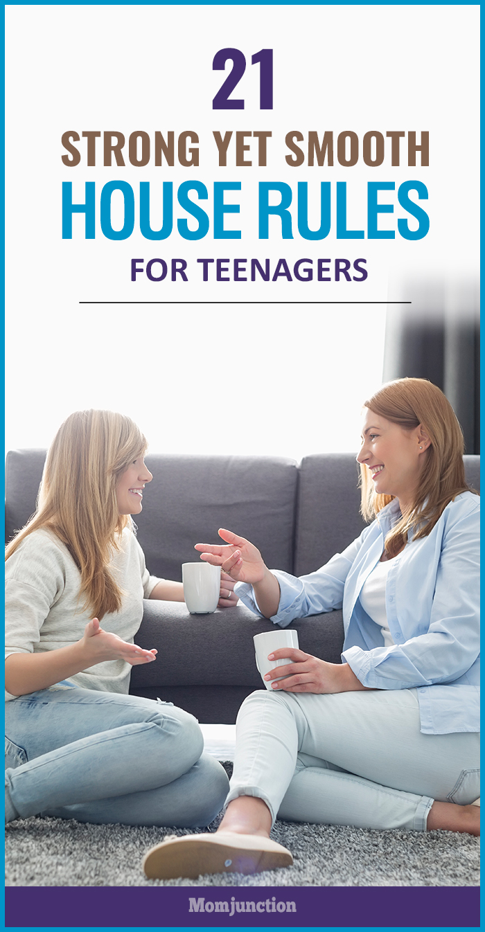 strong yet smooth house rules for teenagers momjunction