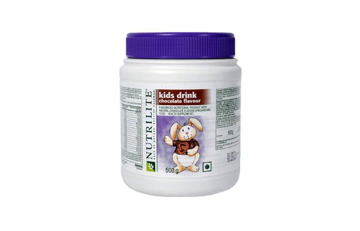 Healthy Drinks For Kids - Amway Nutrilite Kids Drink Chocolate Flavour