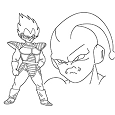 Anime Vegeta the Prince