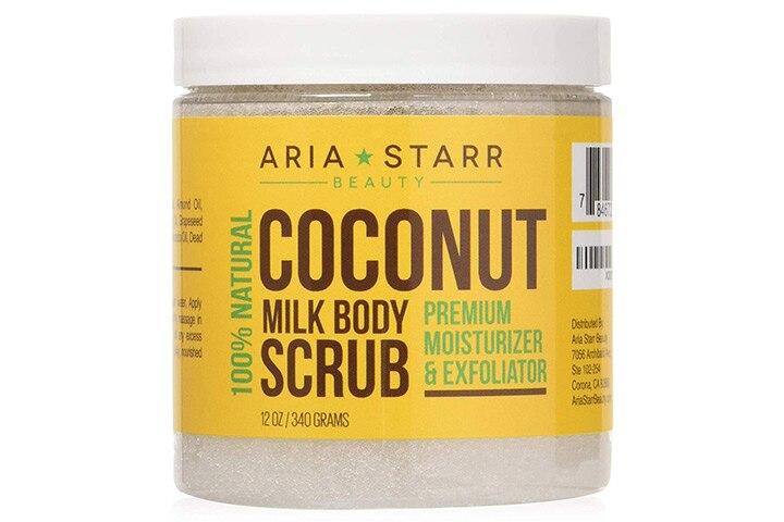 Aria Starr Coconut Milk Body Scrub