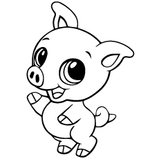 Pig Coloring Pages_00119987on American Muscle Cars
