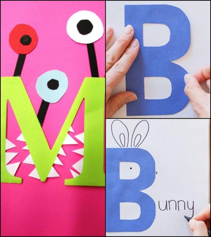 Alphabet Craft Ideas