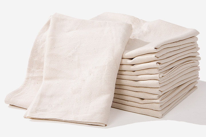 Burp Clothes From Diapers Or Cotton