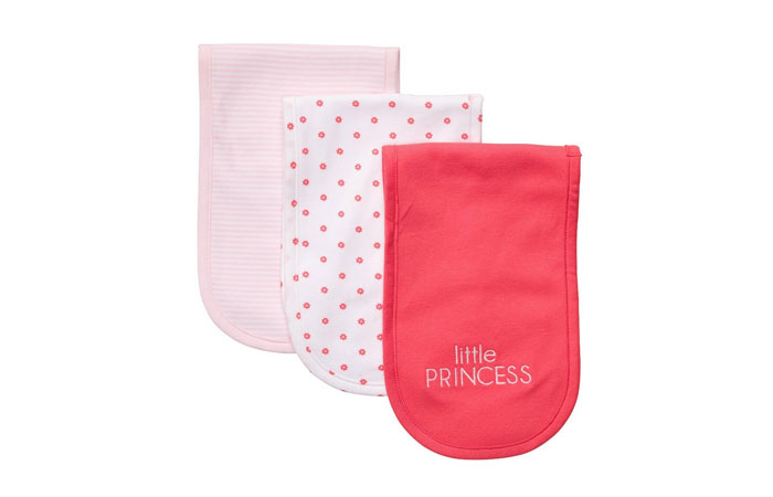 Carter S Baby Burp Girl Cloths