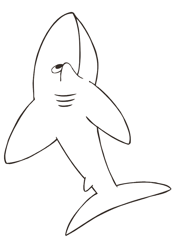 Cartoon-Shark