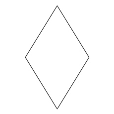 diamond coloring page diamond shape
