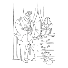Eli Big Daddy La Bouff Coloring Page