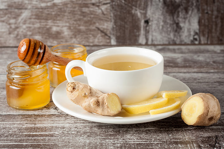 Healthy Drinks For Kids - Ginger Tea