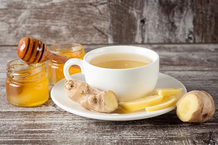 Healthy Drinks For Kids - Ginger Tea