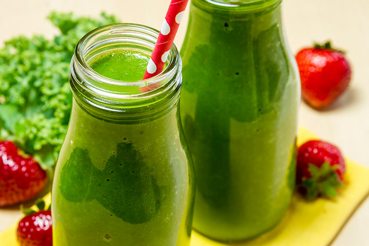 Healthy Drinks For Kids - Green Magic