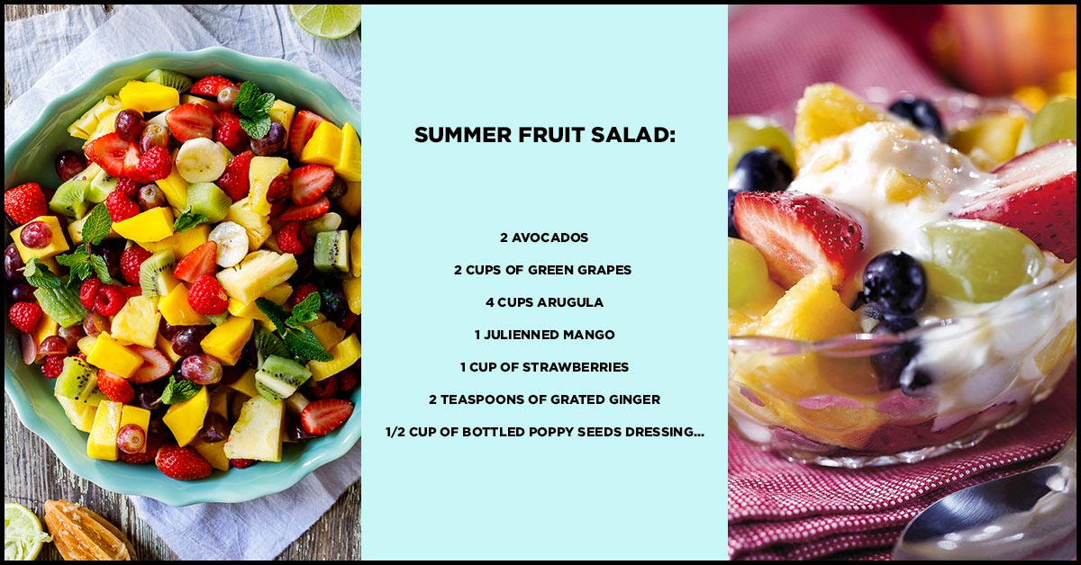 15 Healthy And Easy Fruit Salad Recipes For Kids