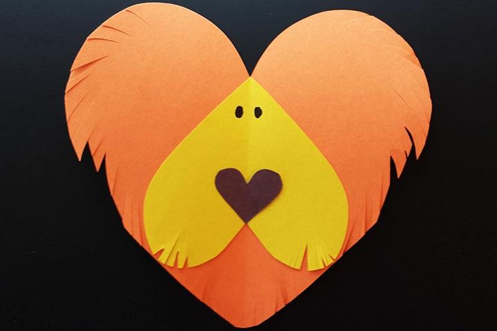Heart Shaped Lion