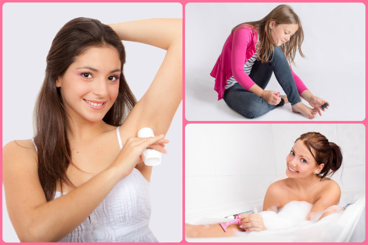 Hair removal for pre-teen children Girls puberty