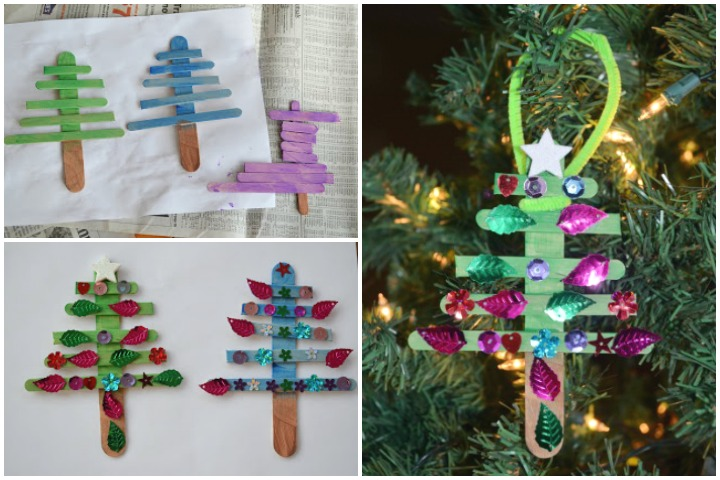 Ice cream Stick Christmas Tree