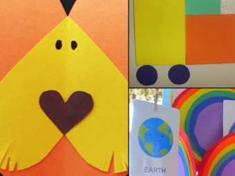 3 Interesting Crafts Ideas For Teaching Shapes To Your Little Ones