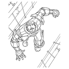 Iron Man Mark Coloring Pages Free 3 Sheets To Print