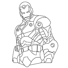 Printable Iron Man Coloring Pages