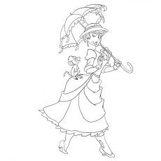 Disney Esmeralda Coloring Pages - Get Coloring Pages | 230x230