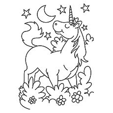 karkadann unicorn - Coloring Pages Unicorns Printable