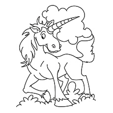 Printable Karkadann Coloring Pages Unicorn Kilin To Color