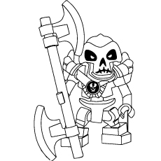 ninjago kruncha coloring pages - Ninjago Pictures To Color
