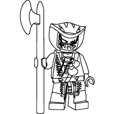 Ninjago Lasha Coloring Pages