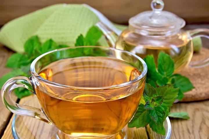 Healthy Drinks For Kids - Lemon Balm Tea