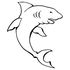 lemon shark shark megalodon coloring pages - Coloring Pages Sharks Printable