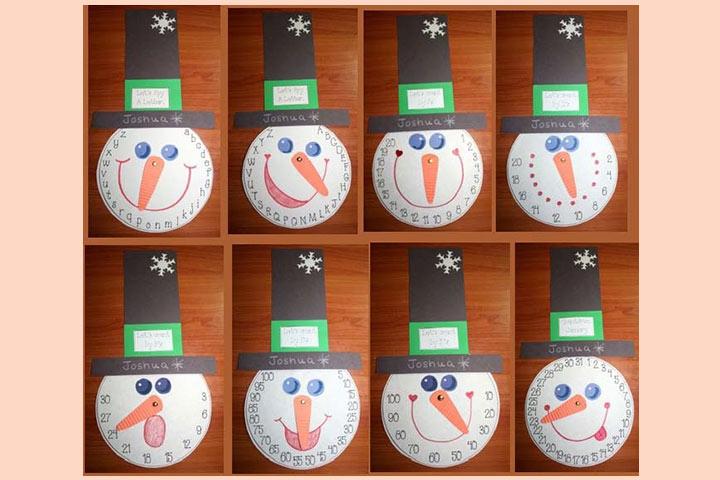 Letter Snowman