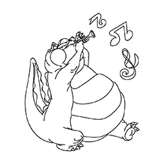 Louis Coloring Pages
