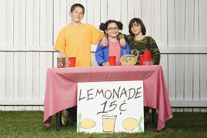 Make A Lemonade Stall