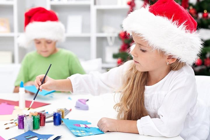 Make holiday greeting cards