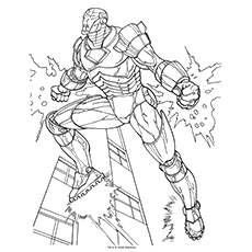 Iron Man Mark 3 Coloring Pages