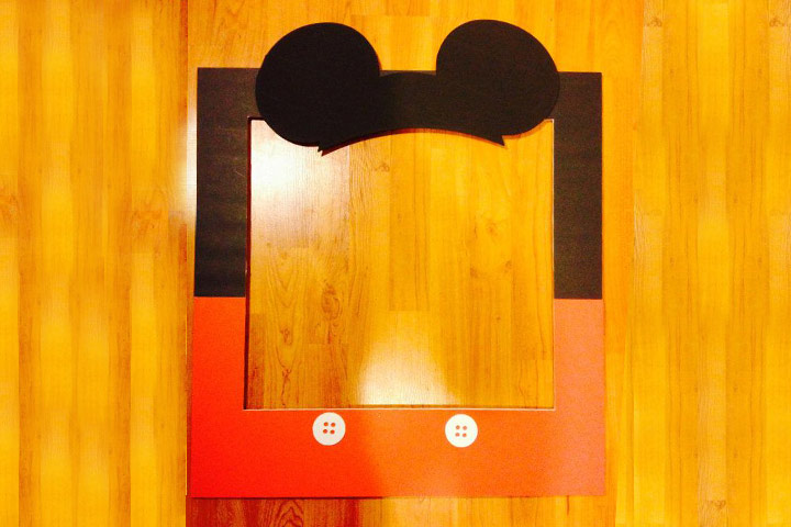 Mickey Mouse Ears Photo Frame