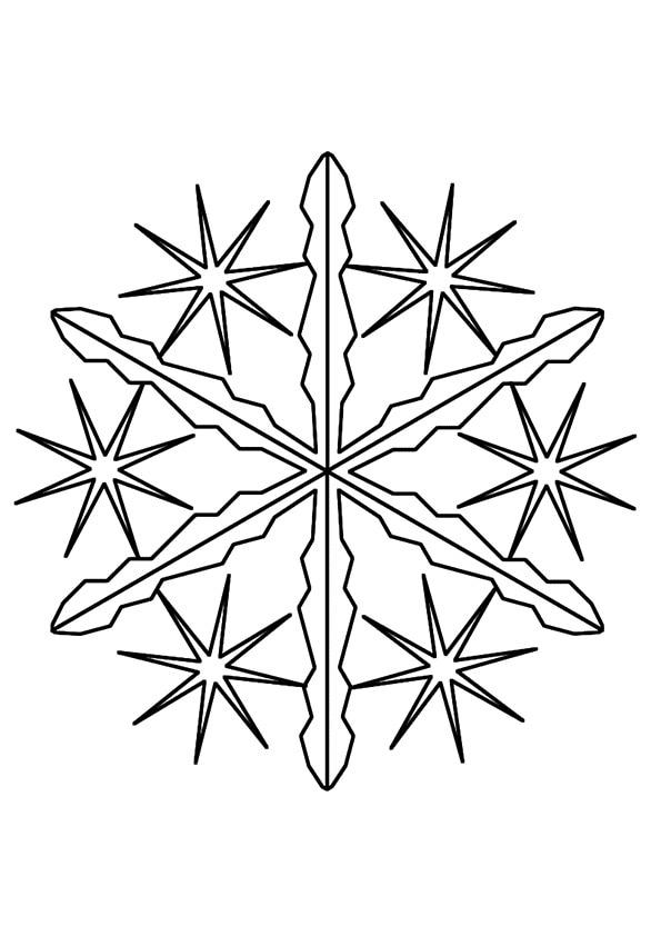 Needle-Snowflake