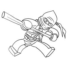 Ninjago Cole coloring images