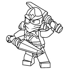 ninjago coloring pages free printable - Ninjago Coloring Pages To Print