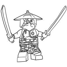 Ninjago Ronin coloring images