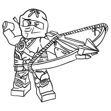 Ninjago Skylor coloring images