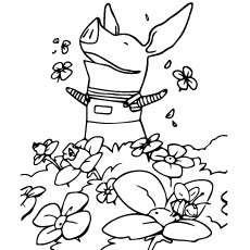Olivia Coloring Page to Print