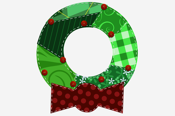 Christmas Activities For Toddlers - Paper Plate Wreath