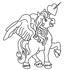 Pegasus Coloring Sheets