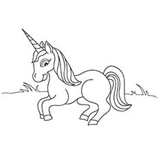 physiologuss unicorn to color free - Coloring Page Unicorn Rainbow