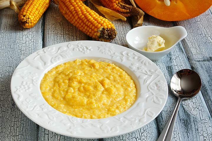 Pumpkin And Cornmeal Porridge