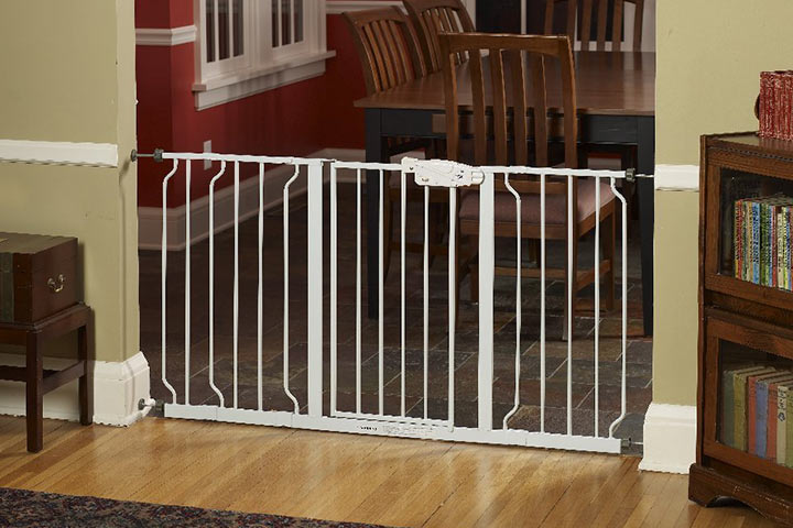 Safety Gates - Regalo Extra Wide 58 Inch Wide Span Walk Through Safety Gate