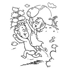 Sarah Sally Walden Coloring Pages