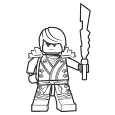 ninjago sensei garmadon coloring pages - Ninjago Pictures To Color